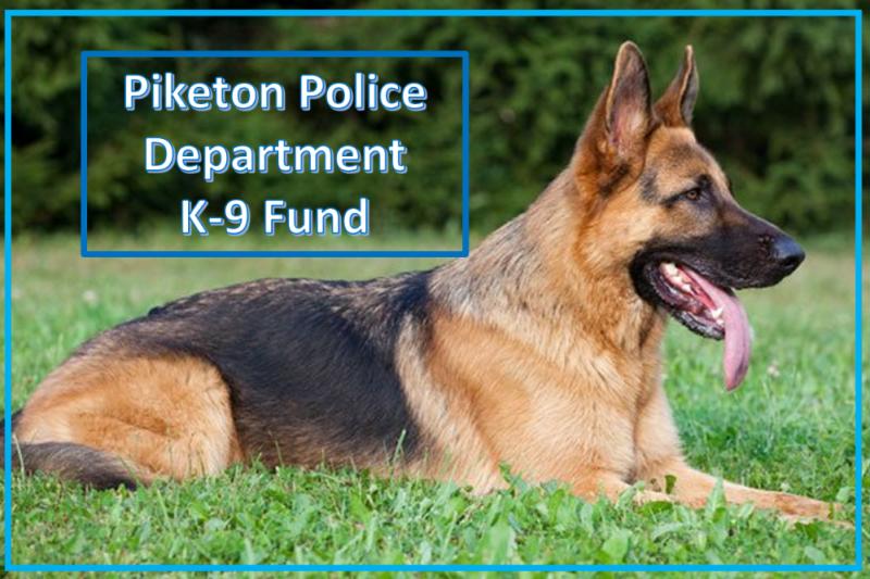 fundraiser by clark graves ii piketon k 9 dog