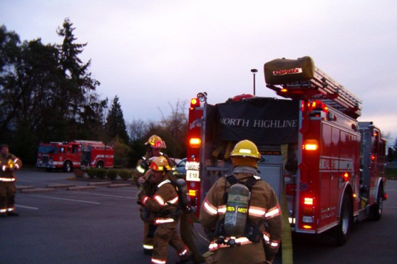 Fundraiser for Zone 3 Explorers by Ronald Harvey : Fire