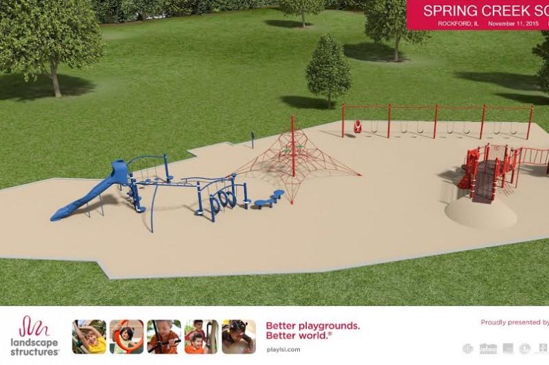Fundraiser By Joan Lantz Schiffer Spring Creek Elementary Playground