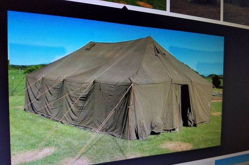 & Fundraiser by Martin A. Bates : Winter Tents Plus Follow up
