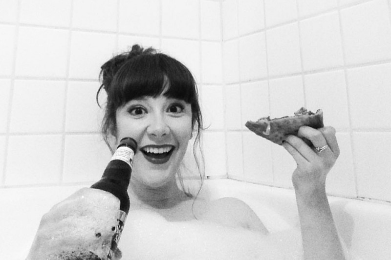 Allie Goertz Nude Photos 45