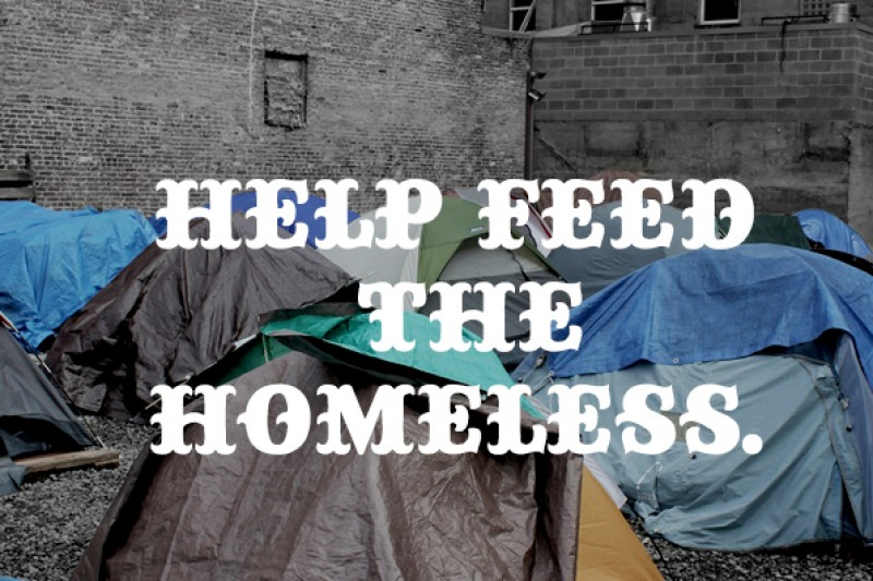 fundraiser by jordan rossi help feed the homeless