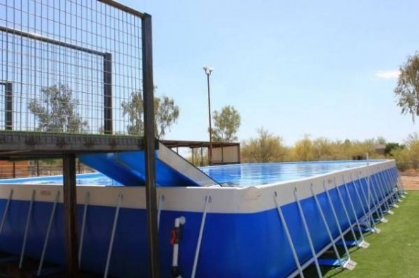 Vegas 40 Foot Dock Diving Pool By Tiffany Van Tuyl White Gofundme