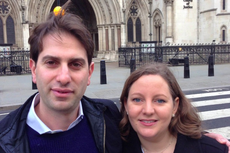 Click here to support Open civil partnerships to all by Charles Keidan and Rebecca Steinfeld