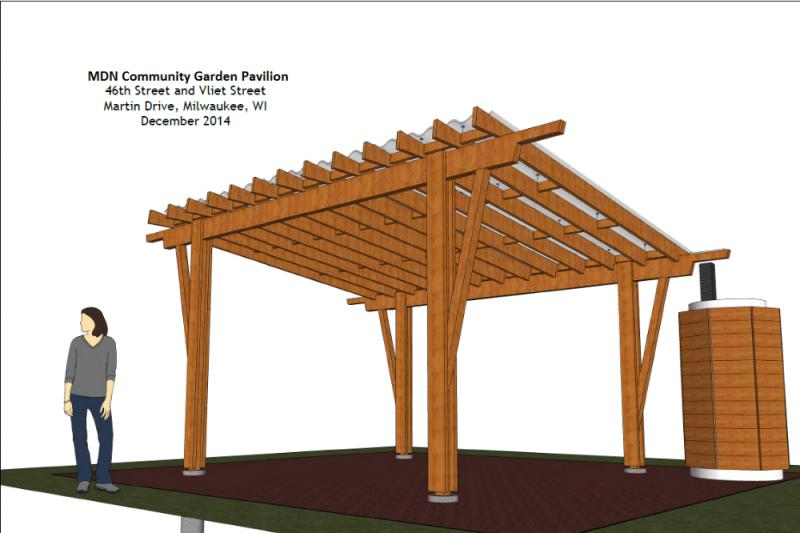 MDN Community Garden Pavilion by Bryan Berghauer GoFundMe