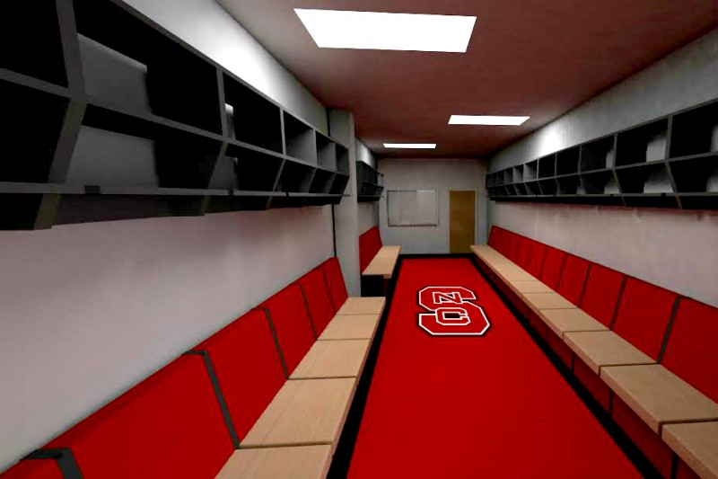 Fundraiser By Garrett Sunda Locker Room For Ncsu Club Hockey
