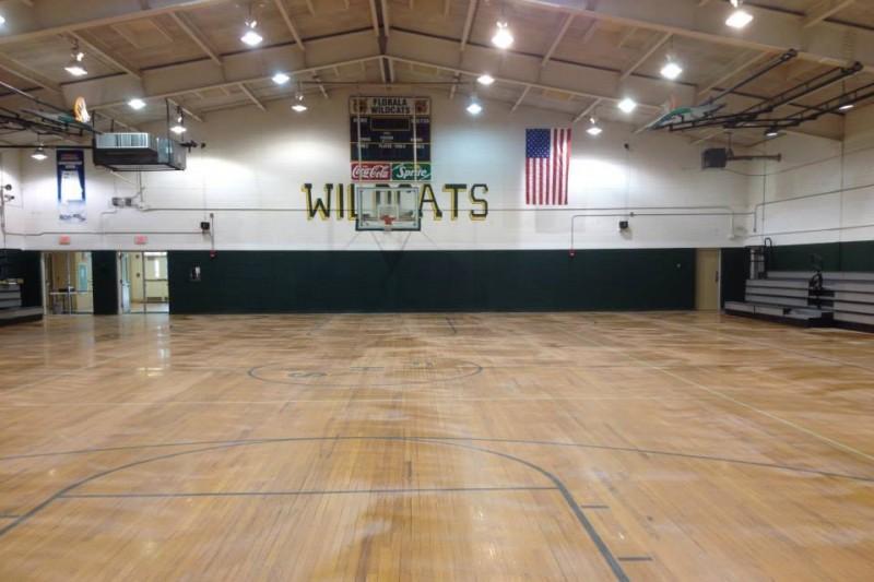high school gym. High School Gym