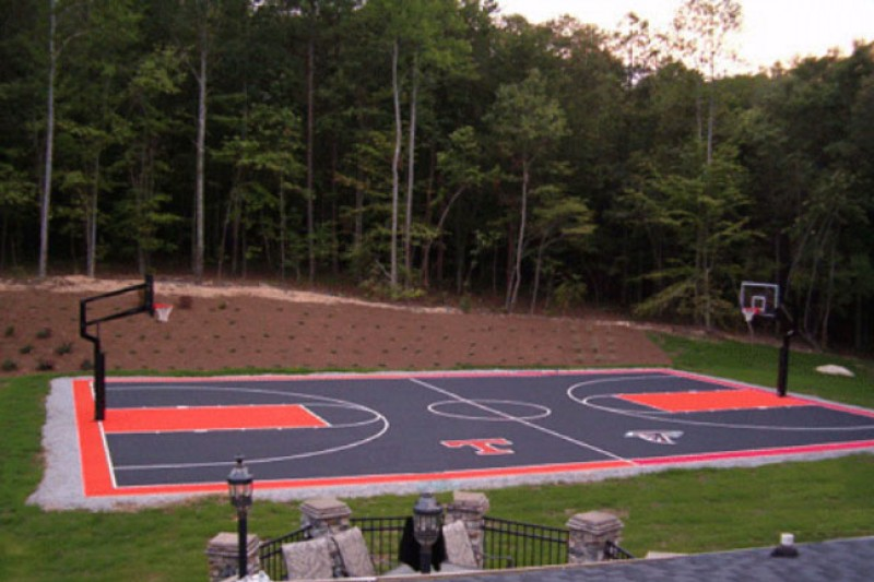 Awesome Fundraiser By Jennifer Porter Curtin : Hampstead Outdoor Basketball Court