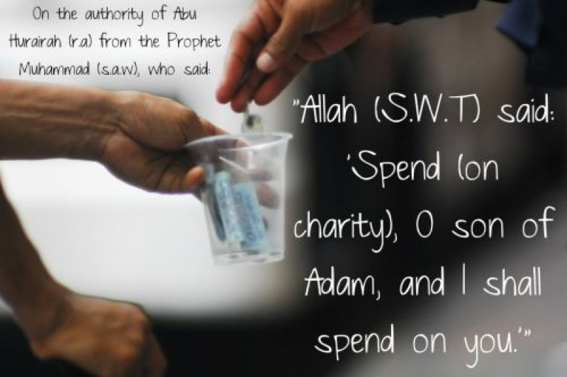 charity in islam In islam charity is very often mentioned alongside prayer because just as the latter is man's relation with god, or man's duty towards god, the former (charity) represents his relation with his fellow-beings, and indeed with all the creation of god.
