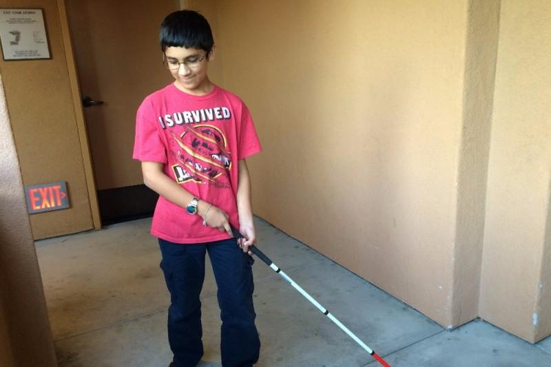 Help Blind 12 Yr Old Boy Create App By Emilie Bard Gofundme