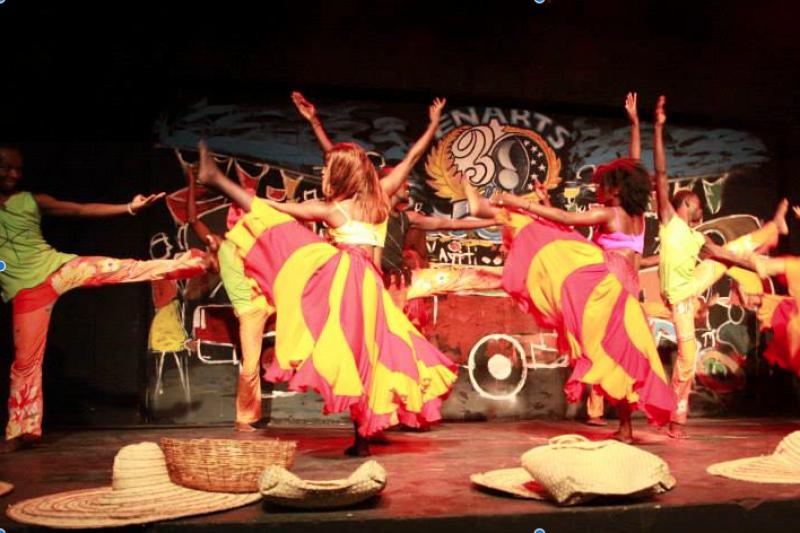 Dancing With Haitians At La Fete De >> Fundraiser By Feral Barbus Support Fellow Dancers In Haiti